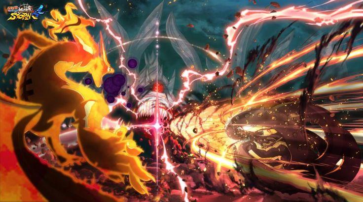 Naruto Shippuden : Ultimate Ninja Storm 4 - Kyûbi en action dans ...