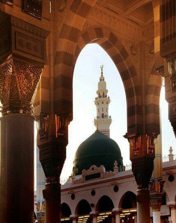 Oh my greatest wish to walk the land of my beloved Holy Prophet and see the Mosque and do pray there in Masjid al- Nabawi ~ Madina, Saudi Arabia