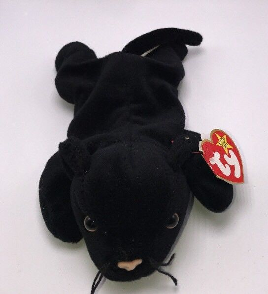 Ty Beanie Babies Velvet The Black Panther 1995  TY  ae93fd8617cf