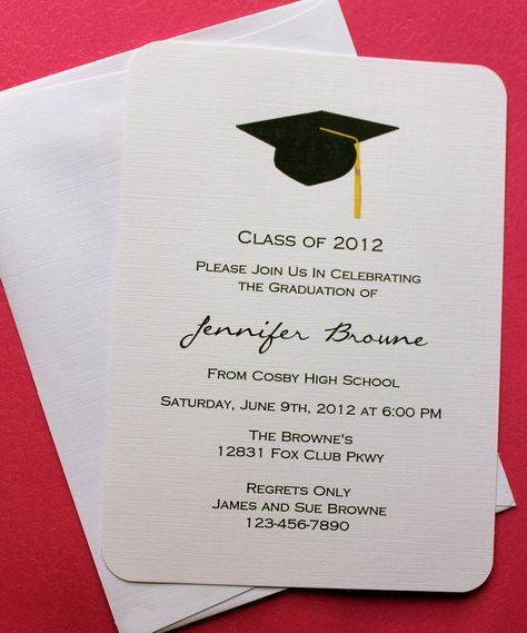 Collection of thousands of free Graduation Invitation Template from all over the world.