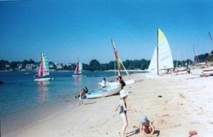 Benodet Beach is perfect for families #benodet #brittany