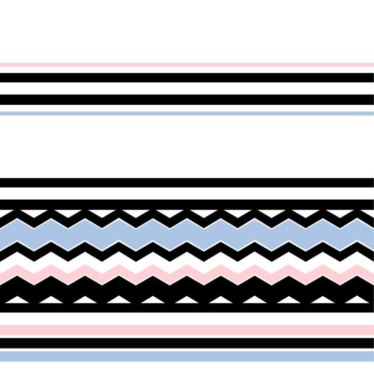 """""""Stripes and zig zag"""", grafica di Hallon Design  #stripes #colors #graphics #design"""
