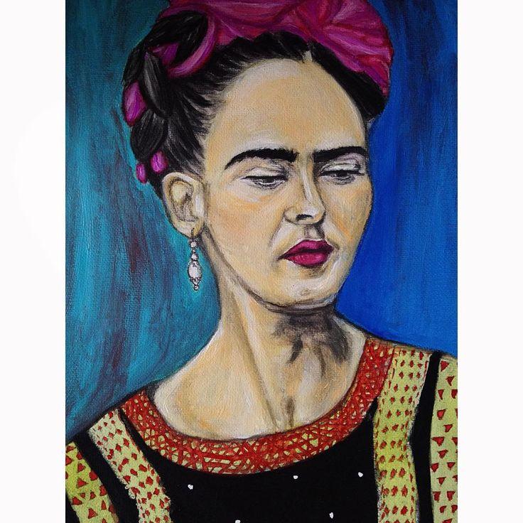 #fridakahlo #mexican #art #artist #alluramaison #fashionillustration #Painting #sketch #boho #realism