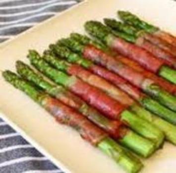 Asparagus and prosciutto Phase 1 Atkins.com
