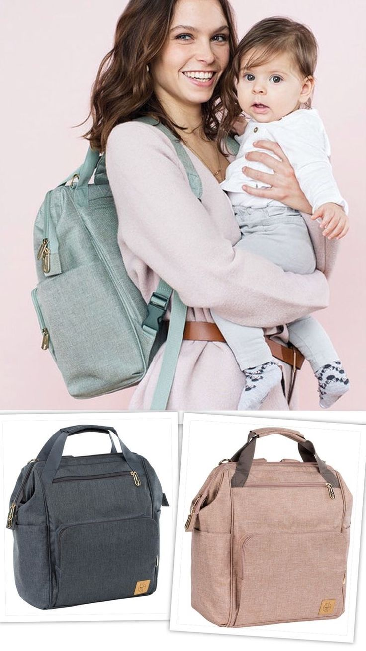 Lässig – Wickelrucksack Glam Goldie Backpack – Mint – Babyartikel.de