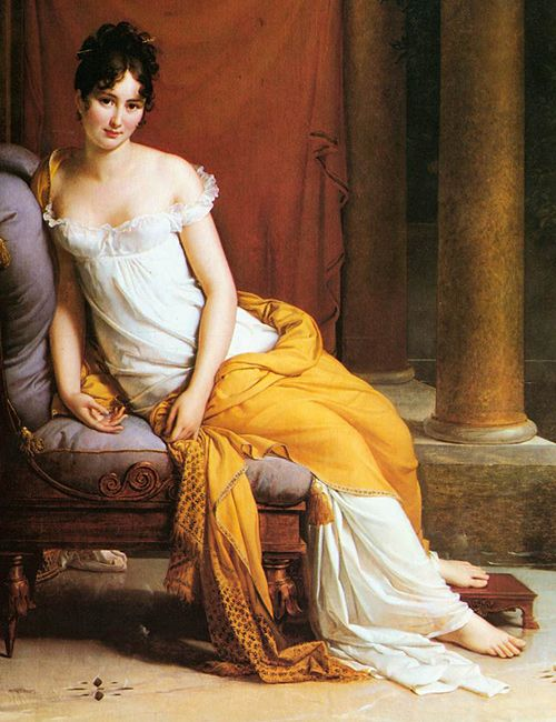 Madame Recamier von Francois Gerard, 1805