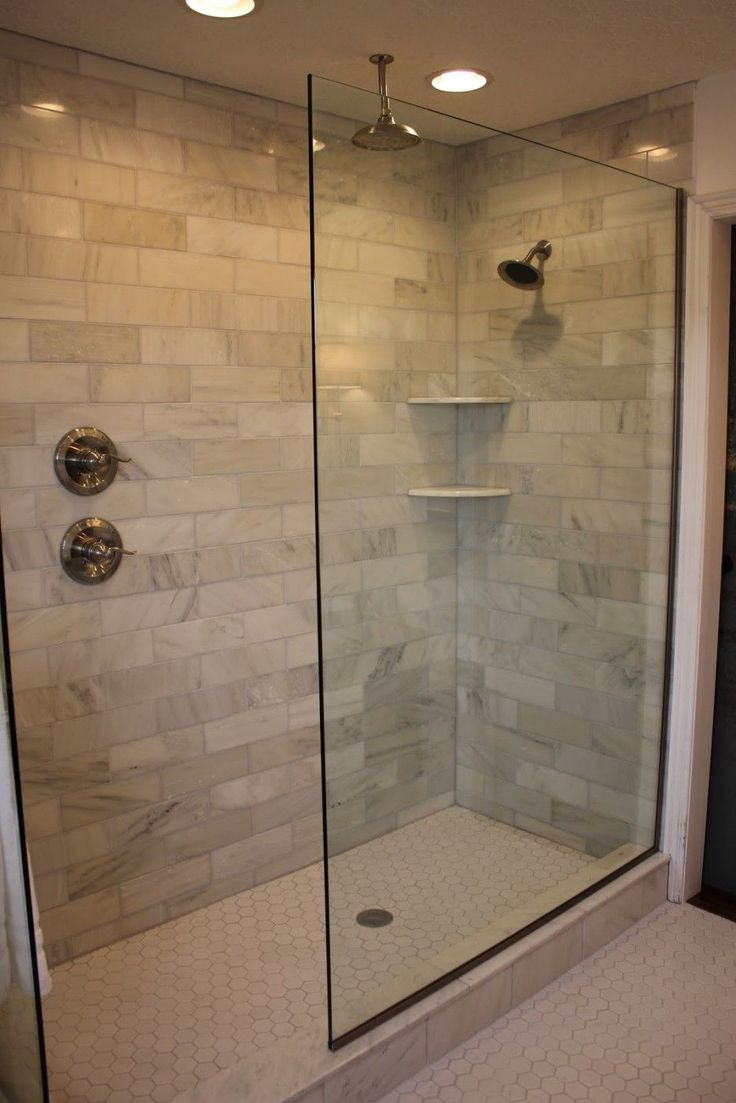 Incredible Doorless Walk In Shower Designs Ideas