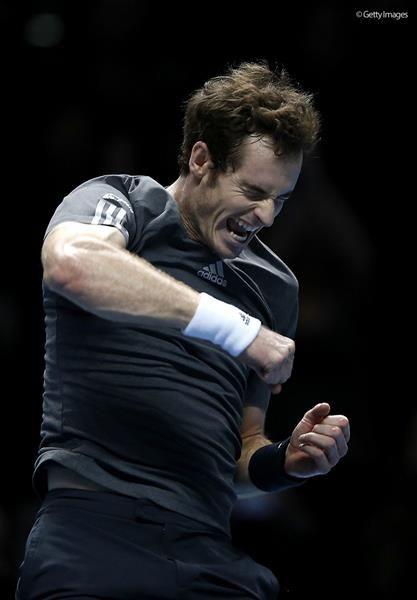 【ATPワールドツアー・ファイナルズ】A・マレーがラオニッチをストレートで破り、息を吹き返す