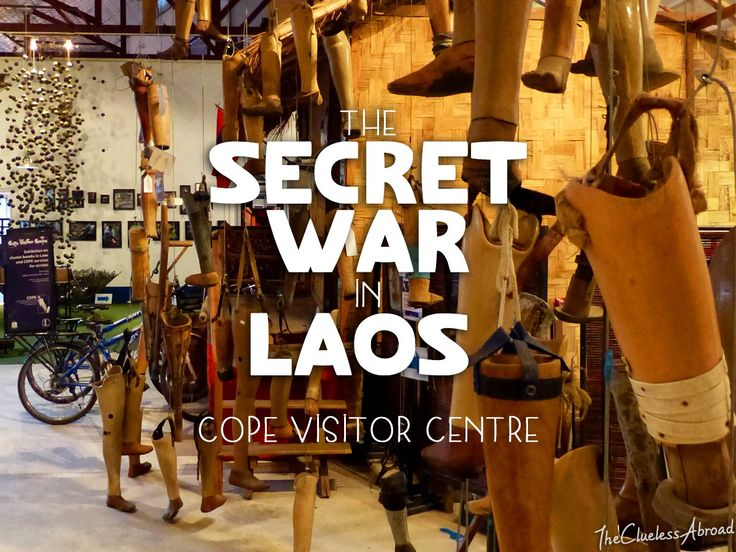 The Secret War in Laos: A trip to COPE Visitor Centre // The Clueless Abroad