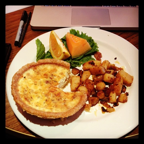 Quiche or Pacman?  You decide. Instagram photo by @jacquelinecovert