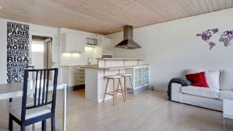 Stunning Copenhagen apartment with roof terrace #copenhagen