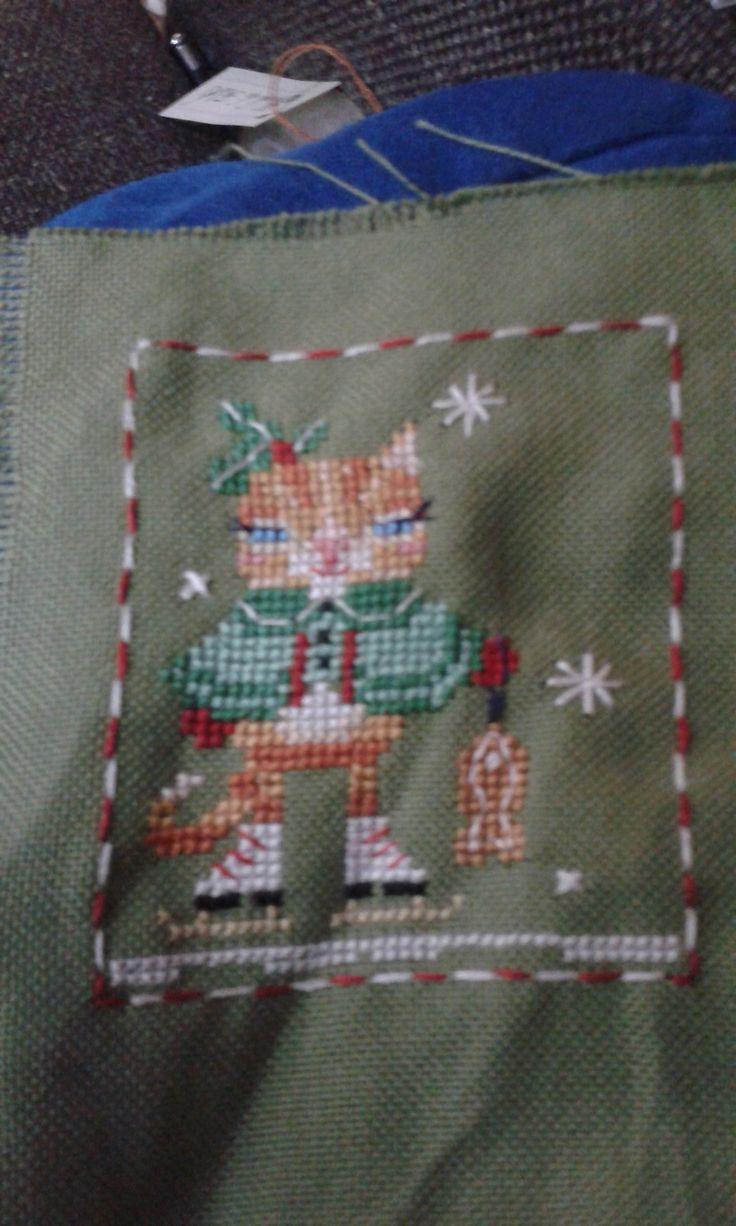 primo animaletto del calendario dell'avvento free di Brooke Nolan Kittie the cat