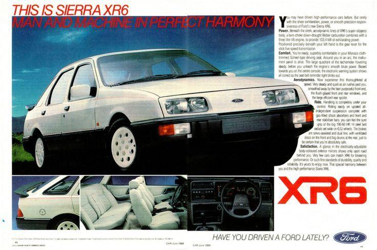Ford Sierra XR6 - South Africa