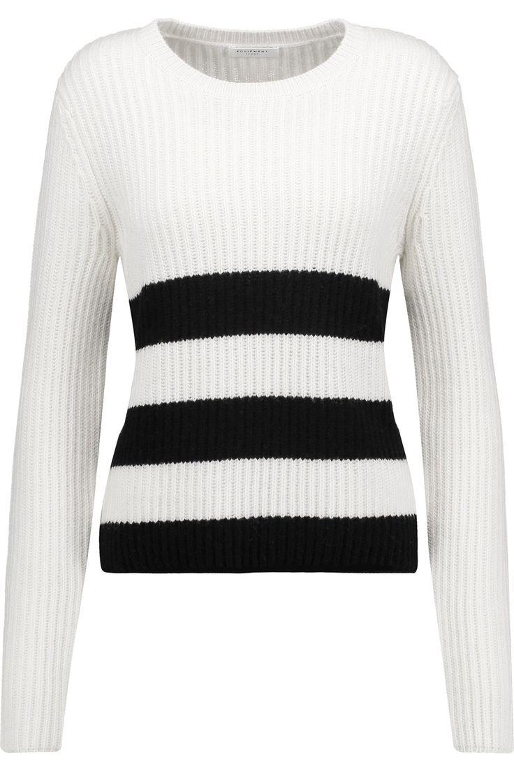 Carson intarsia-knit wool and alpaca-blend sweater