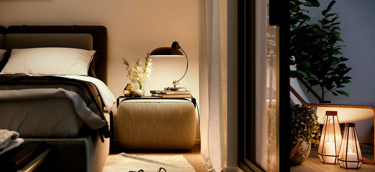 tailors walk apartment development NSW sydney bedroom cosy