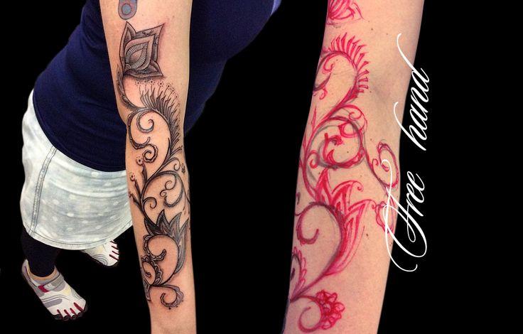 Wagner Santaliestra, artista do Estúdio W Tattoo e Piercing. www.wtattoo.com.br