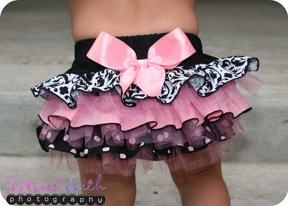 cute diaper cover with ruffles :D