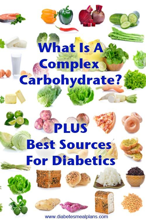 What Is A Complex Carb PLUS best sources for diabetics ...