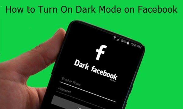 How To Turn On Dark Mode On Facebook Facebook Web Dark Mode In 2020 Digital Trends Turn Ons Facebook Platform