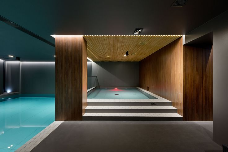 New SPA complex with an indoor swimming pool, gym and hotel rooms in Relax Park Verholy