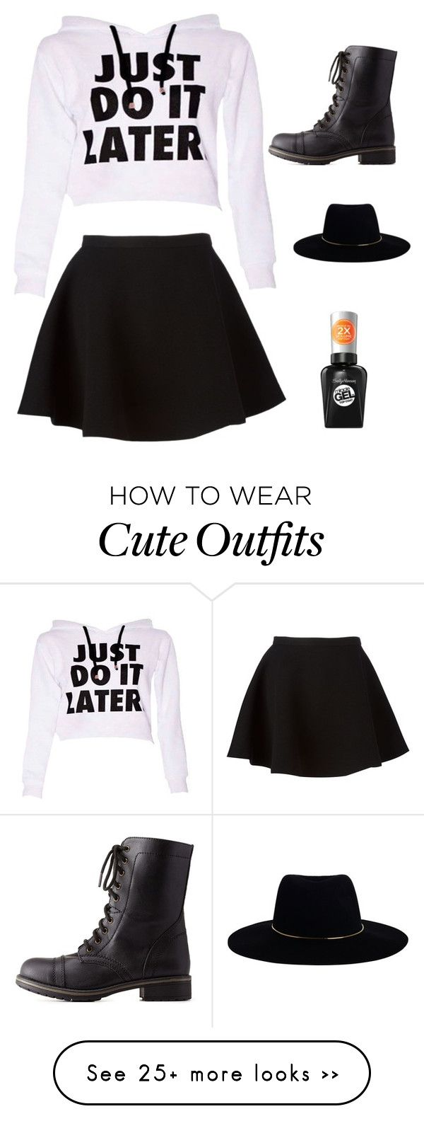 """Cute outfits"" by eileenamathews on Polyvore featuring Neil Barrett, Charlotte Russe, Zimmermann and Sally Hansen"