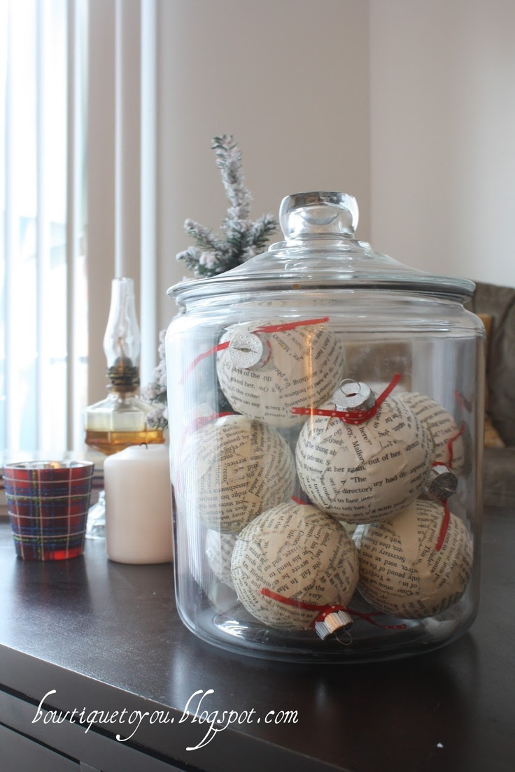 Recycled Xmas ornaments