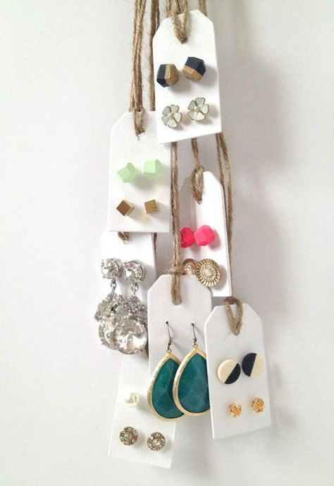 25 Unique Stud Earring Organizer Ideas On Pinterest