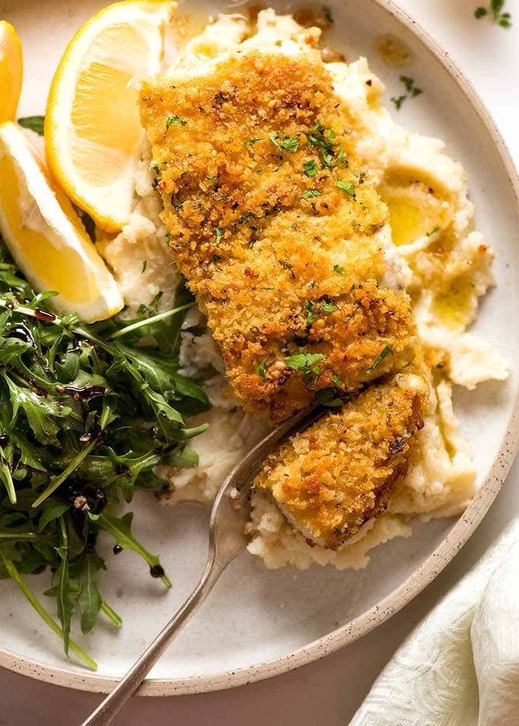 Healthy Parmesan Garlic Crumbed Fish – Recipes