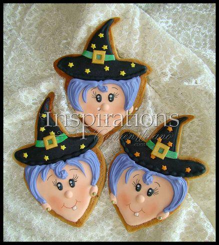 Inspirationn's Spooky cookies