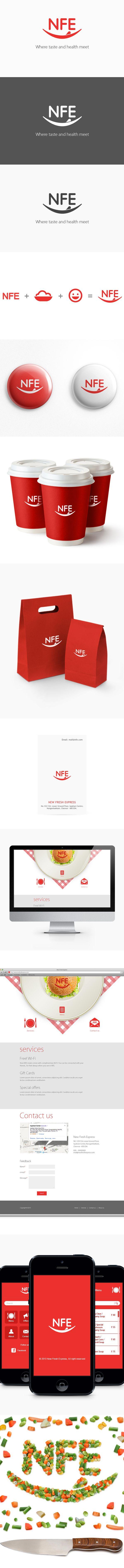 New Fresh Express by Mani Bharathi, via Behance