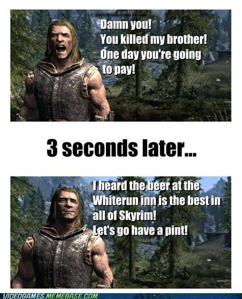 how to change what you look like in skyrim