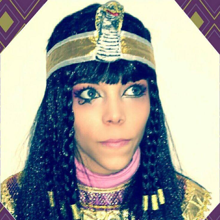 maquillaje cleopatra para carnaval