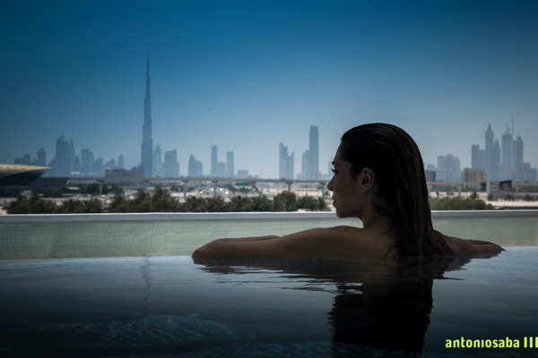 Intercontinental, Festival city, Dubai by Antonio Saba, via Behance