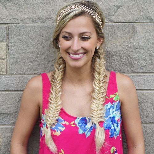 Zeitlose Fischschwanz Zpfe für 2017  Smart Frisuren für Moderne Haar