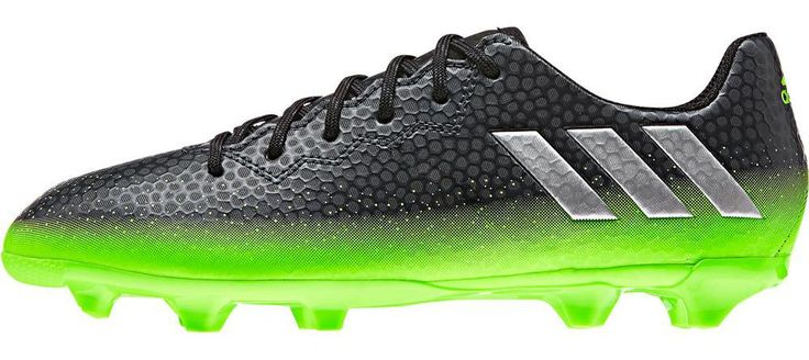 For players who have the speed and agility to take advantage of every tap, touch and chance like Messi himself, these junior football boots are designed with a foot-hugging AGILITY TOUCH SKIN upper fo