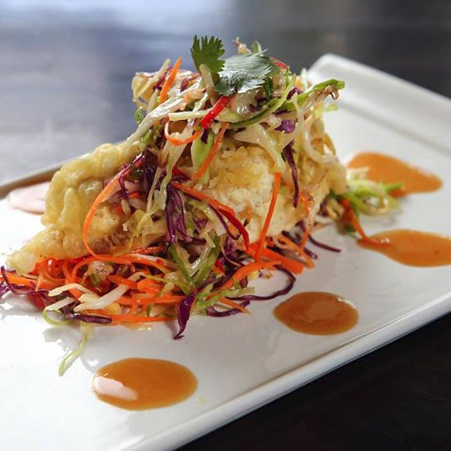 Soft Shell Crab in your private Cabana? Why not..  Cocoon Beach Club #bali #sun #cocktails #poolside #seminyak