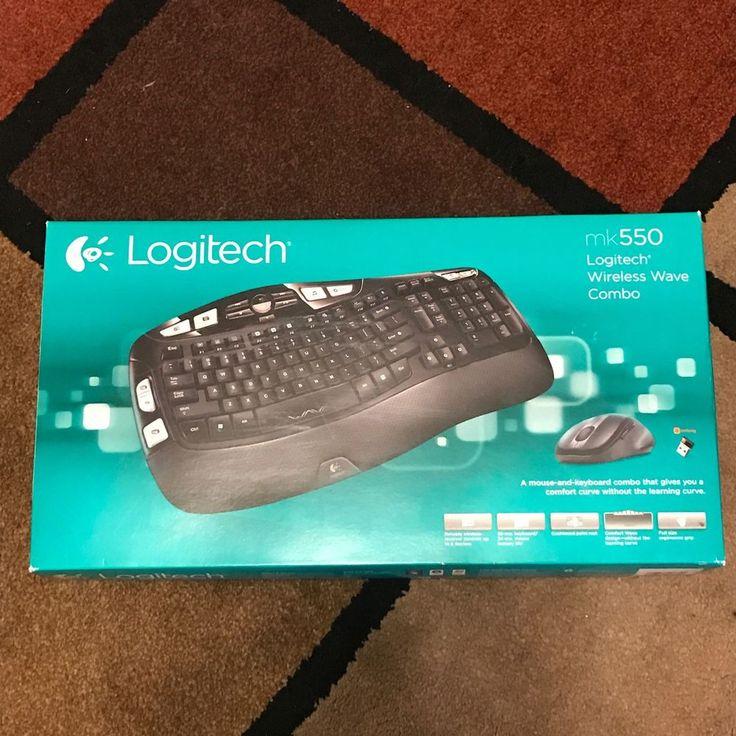 Logitech Wireless Wave Combo Mk550 With Keyboard and Laser Mouse 30 Feet Range 97855066701 | eBay