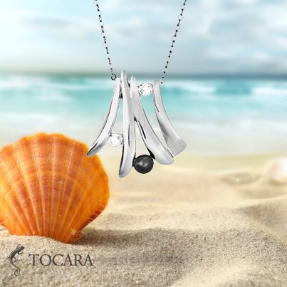 Tocara Jewelry - Nadia Necklace | DiAmi - Freshwater Pearl - Sterling silver