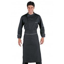 Vamos a preparar la Cena, y hoy gracias a www.360uniprof.com/prestashop , voy a vestirme de Negro. Sobrio y Elegante. Como tiene que ser....