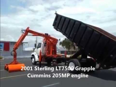 2001 Sterling LT7500 Grapple Truck for sale at at EquipmentReady - Price: $54,900.00  On-line marketplace for used commercial trucks, trailers and heavy equipment. http://equipmentready.com/sale/trucks #truck
