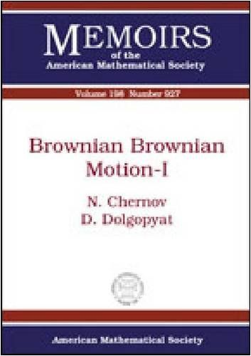 Brownian Brownian Motion-I (Memoirs of the American Mathematical Society)