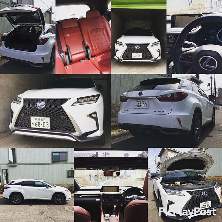 車検の代車はRXでした‼︎ 高速での突き上げ感があった事と車高が高い為かスピードを出した時に安定感がないように感じました。 でも高級感があり乗りやすくて良い車でした‼︎ でもでもやっぱり自分の車が1番です(^^) いつも停めてるISの車庫に入れましたが、キッツキッツでした。笑 車庫入れ上手(^^) #lexus  #lexusrx #lexusrx450h #レクサス #レクサスrx  #レクサスrx450h #車庫入れ上手 #20170327