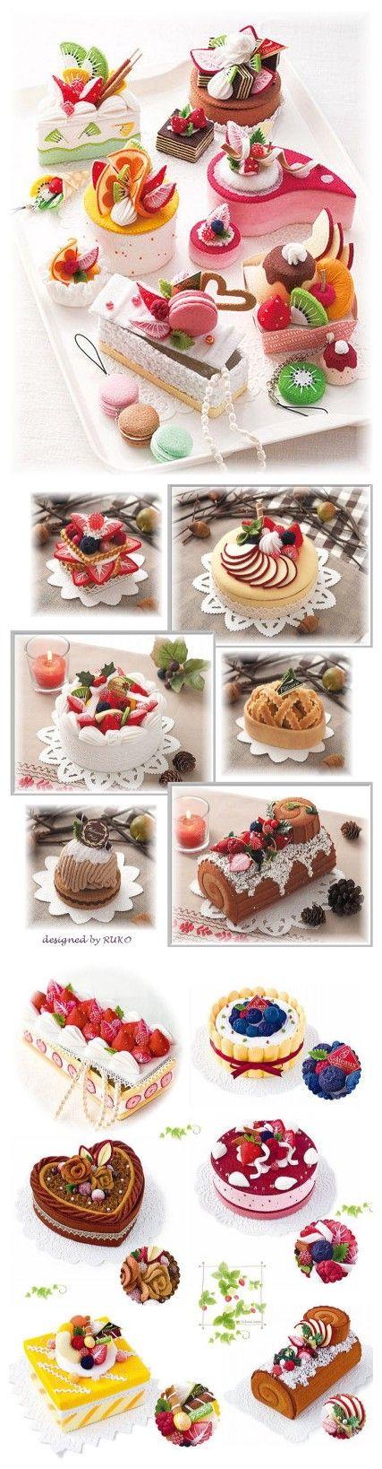 美味的不织布蛋糕 I