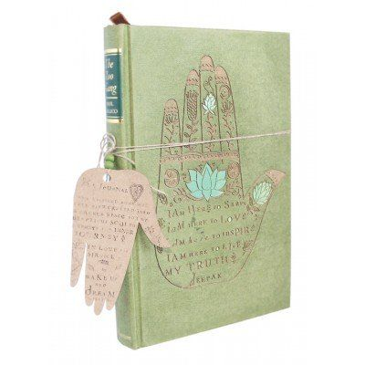 A lovely handmade journal to use for writing your thoughts and dreams. Made from old, upcycled book covers and recycled paper. Wake Up and Dream Journal - I Am Here To Serve from Faithful to Nature. Eco-friendly, green and zero waste product from South Africa. Affiliate link.