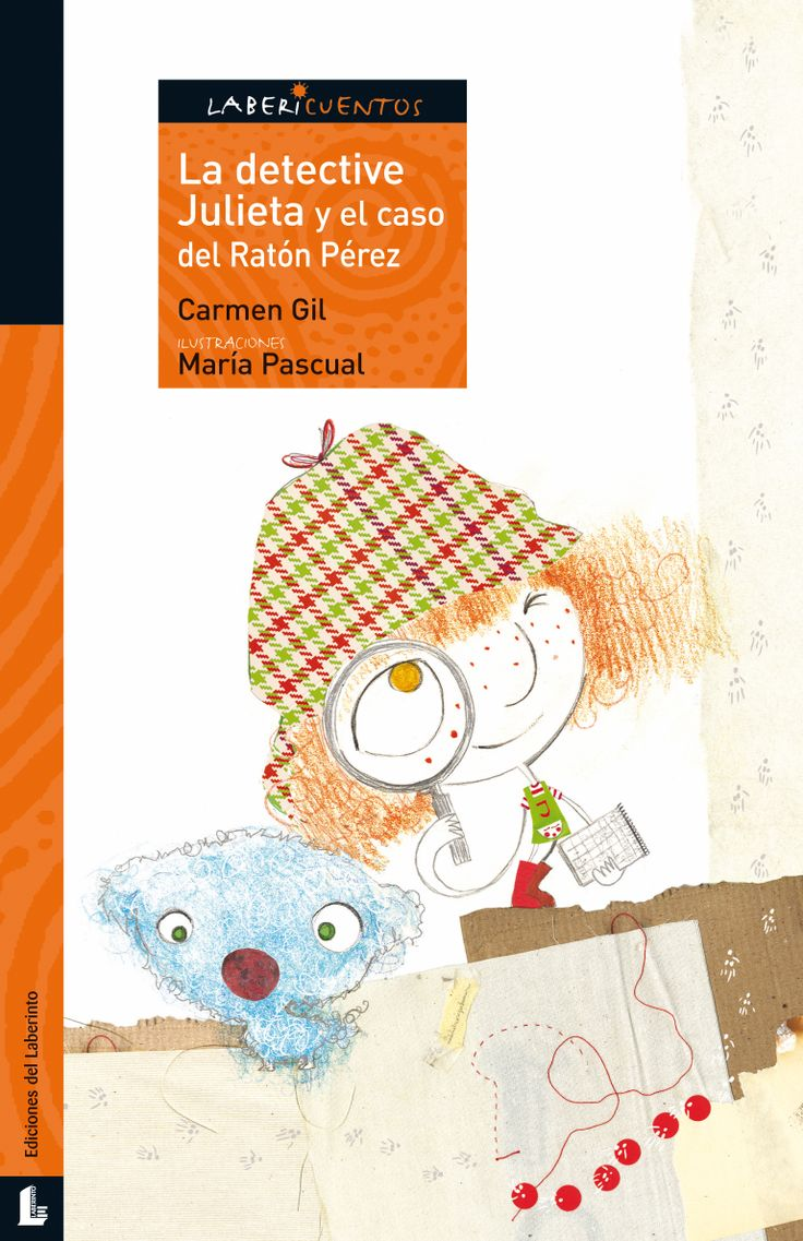 Cuando a Julieta se le cae su primer diente, decide investigar qué hace el ratón Pérez con los dientes que va recogiendo debajo de las almohadas de millones de niños. Gracias a su ingenio, a una gran labor de investigación y a la inestimable ayuda de su perrito Gustavo, descubre el lugar donde el famoso ratón guarda todos esos dientes. http://www.edicioneslaberinto.es/libros/267/la-detective-julieta-y-el-caso-del-ratn-prez