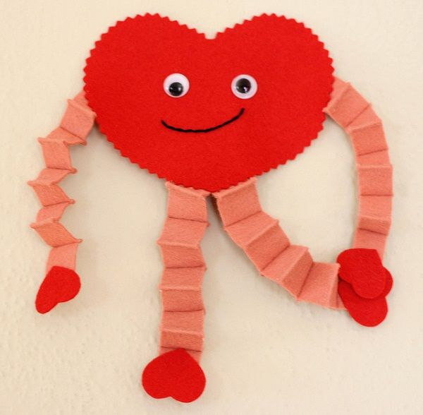 Valentines Heart Guy...I remember doing this in elementary school