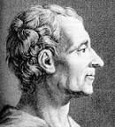 Baron Montesquieu, generally referred to as simply Montesquieu, was a French lawyer, man of letters, and political philosopher who lived during the Age of Enlightenment