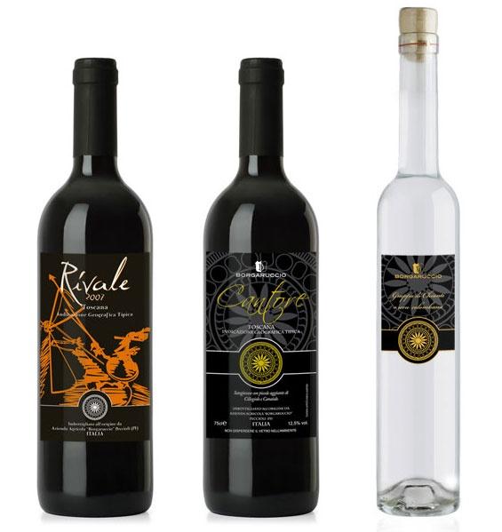 Progettazione grafica di #etichette per vino