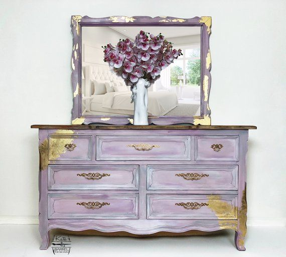 Italian French Provincial Images On: Vintage Dresser With Mirror, Baroque, French Provincial
