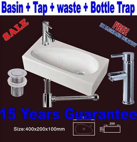 BATHROOM CLOAKROOM WALL HUNG BASIN SINK HS17R | eBay